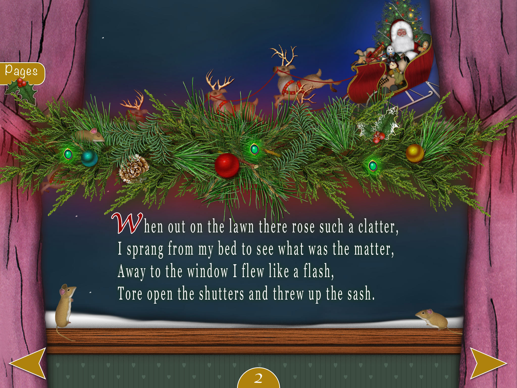 T'was The Night Before Christmas - An Interactive Classic - Kwiksher