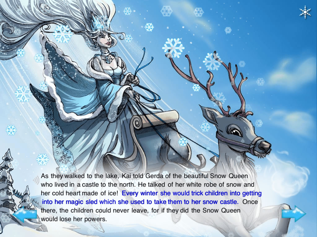 The Snow Queen Musical Children S Interactive Storybook