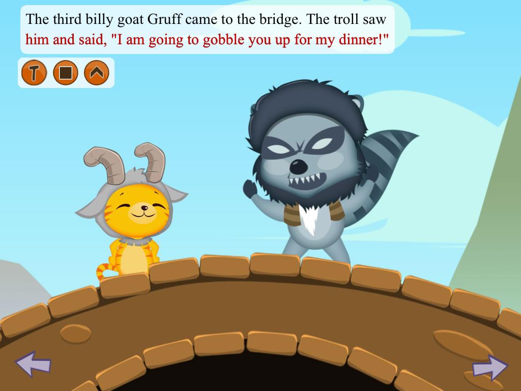3 Billy Goats Gruff - Kwiksher